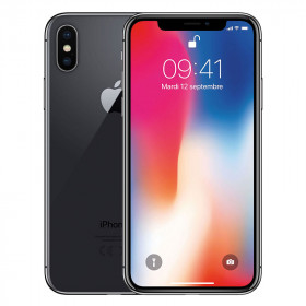 iPhone X Gris Sidéral 256Go Reconditionné