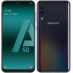 Samsung Galaxy A50 Noir 128Go Reconditionné