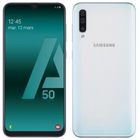 Samsung Galaxy A50 Blanc 128Go Reconditionné