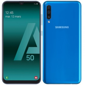 Samsung Galaxy A50 Bleu 128Go Reconditionné