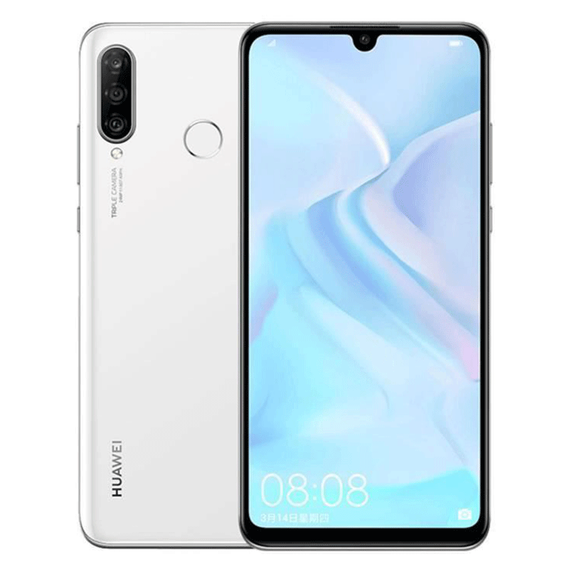 Huawei P30 Lite Blanc 128Go Reconditionné   SMAAART