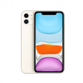 iPhone 11 SANS FACE ID Blanc 128Go Reconditionné