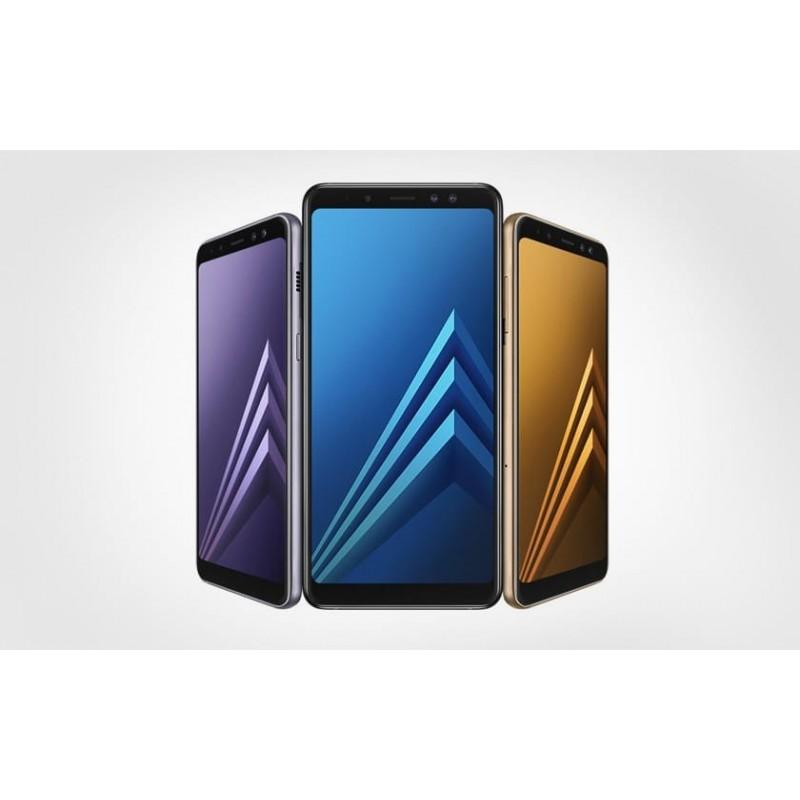 Galaxy A8 2018 32 Go grade B reconditionné