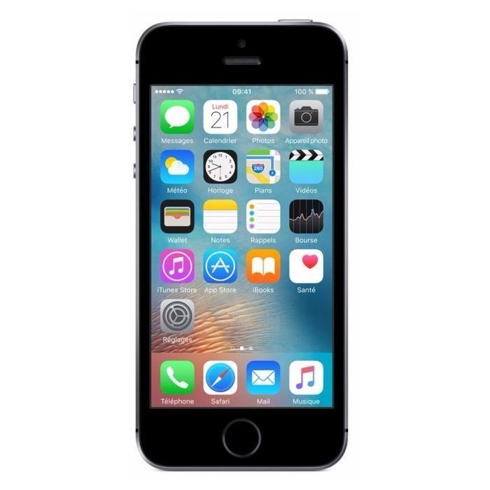 iPhone SE Gris Sidéral 16Go Reconditionné