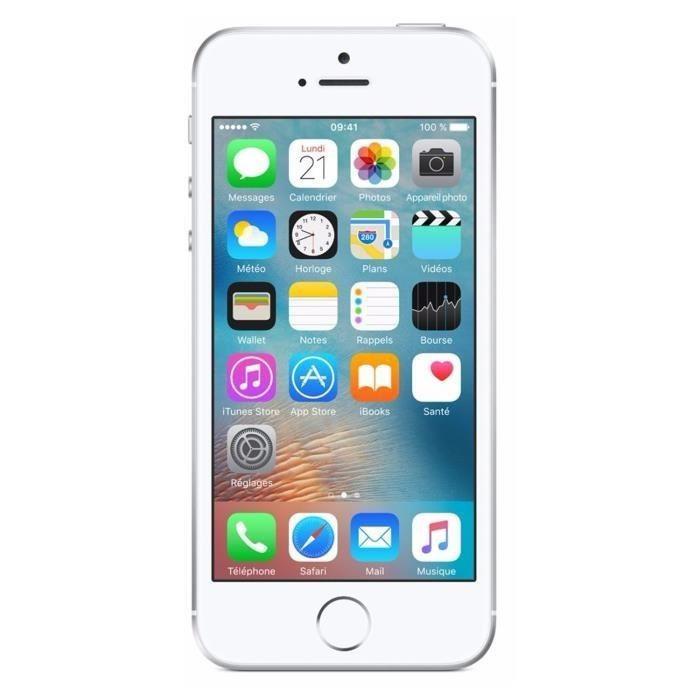 iPhone SE Argent 16Go Reconditionné | SMAAART