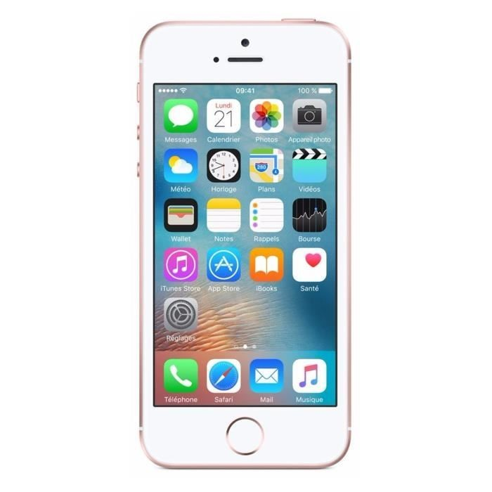 iPhone SE Or Rose 16Go Reconditionné