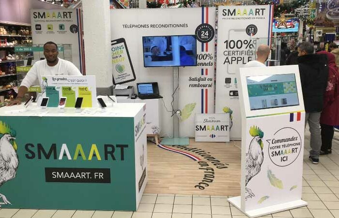 Shop-in-shops SMAAART chez Carrefour