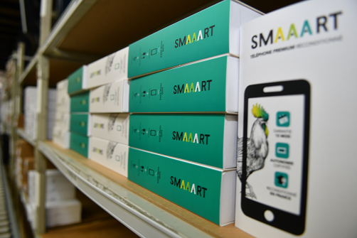 smartphones reconditionnés SMAAART