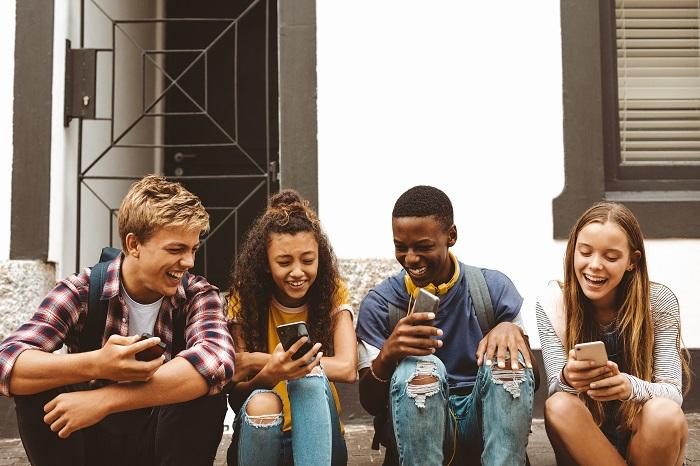 jeunes et smartphones